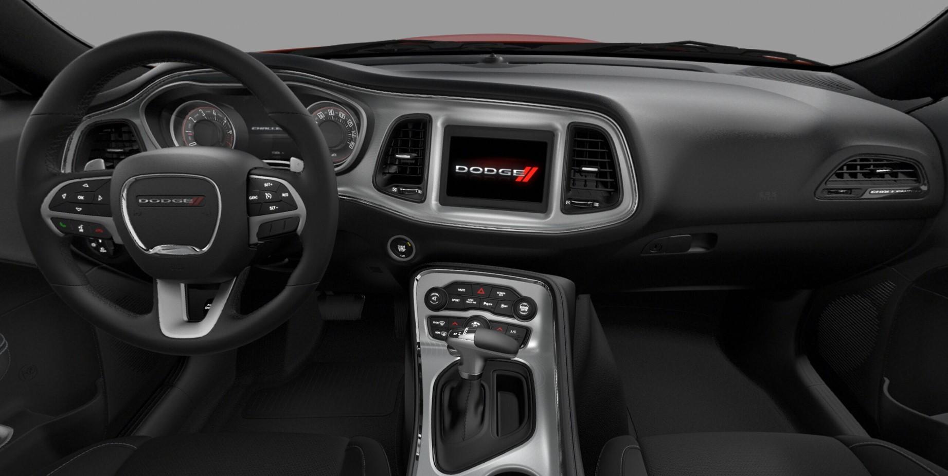 Dodge Challenger Interior >> 2019 Dodge Challenger Gt Ron Carter Chrysler Jeep Dodge Of