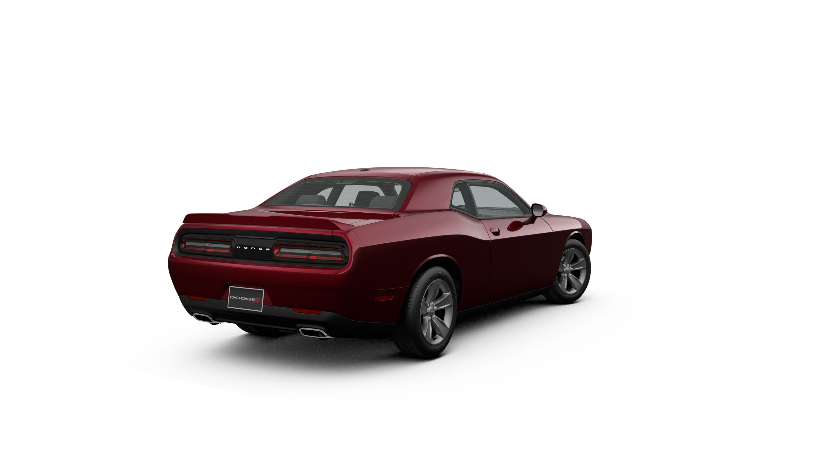 2019 Dodge Challenger SXT Red Exterior Rear View Picture