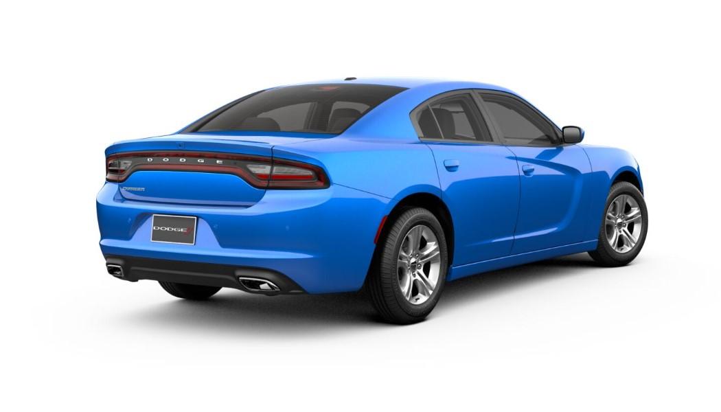 2019 Dodge charger SXT Blue Rear Exterior Picture