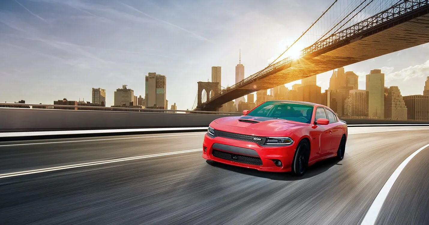 2019 Dodge Charger Red Exterior Front View Picture