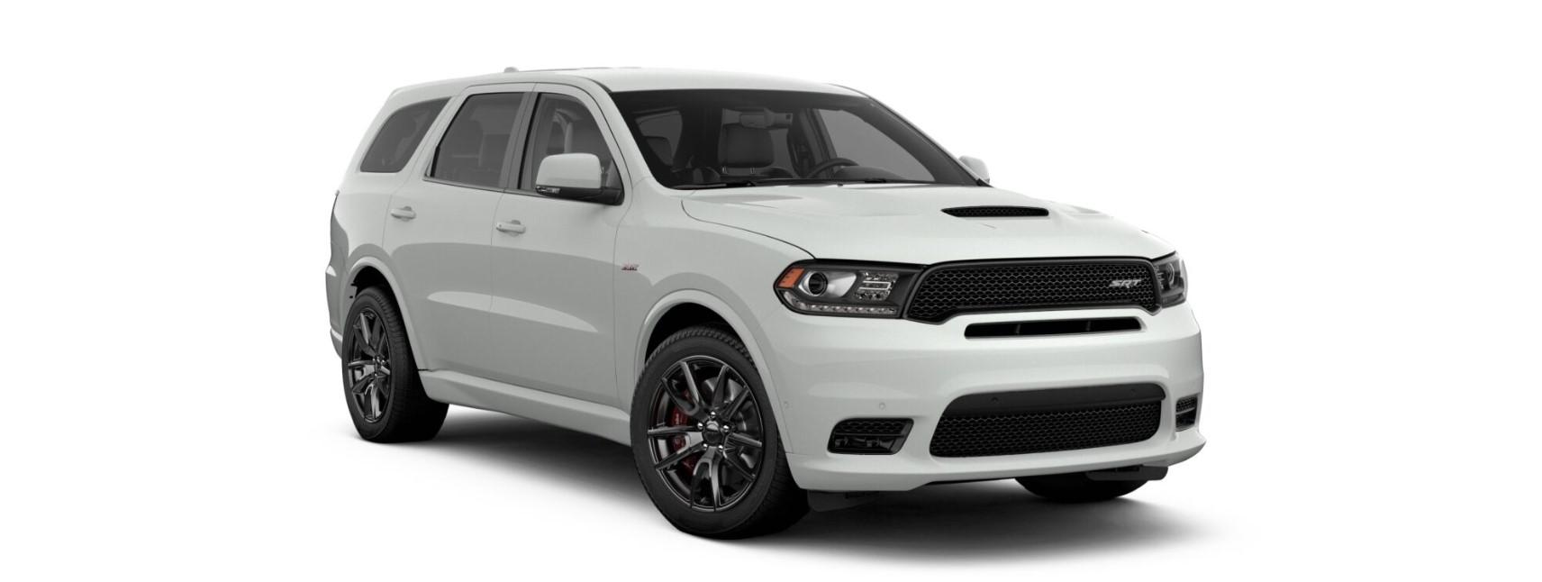 2019 Dodge Durango SRT White Front Exterior