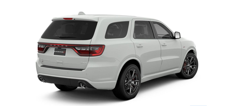 2019 Dodge Durango SRT White Rear Exterior