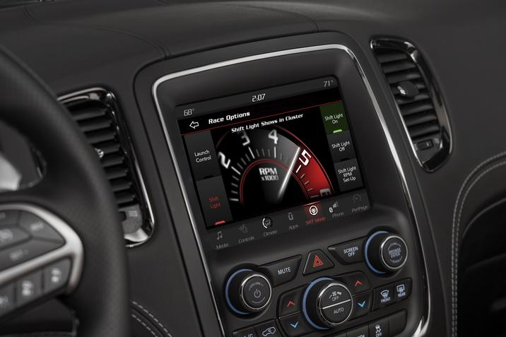2019 Dodge Durango Interior Display Screen Detail Picture