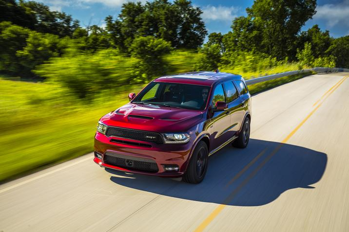 2019 Dodge Durango Red Exterior Front Picture