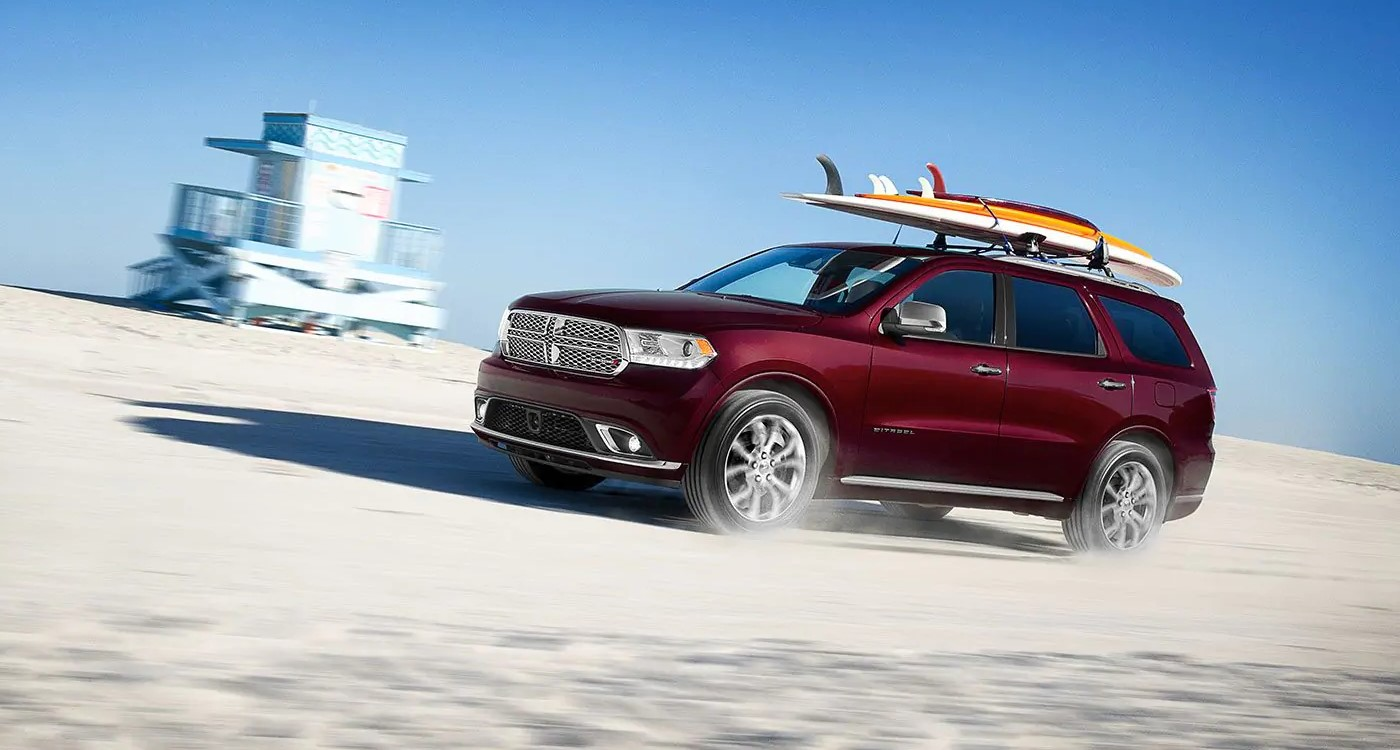 2019 Dodge Durango Red Exterior Side Picture
