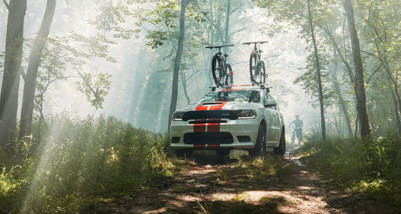 2019 Dodge Durango White Exterior Off-Road Picture
