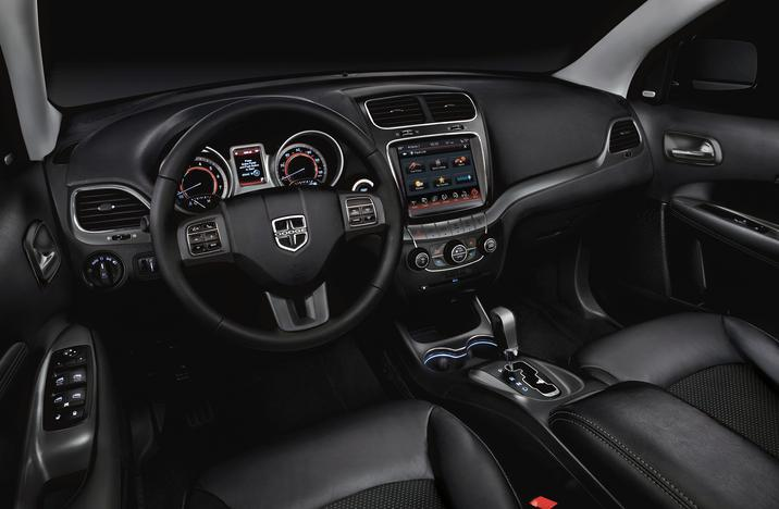 2019 Dodge Journey Front Interior Picture