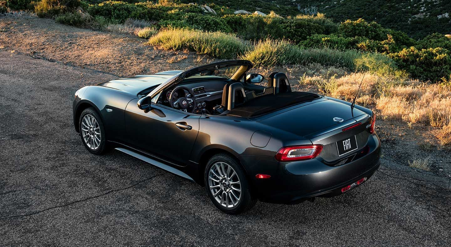 2019 FIAT 124 Spider Black Exterior Rear Picture