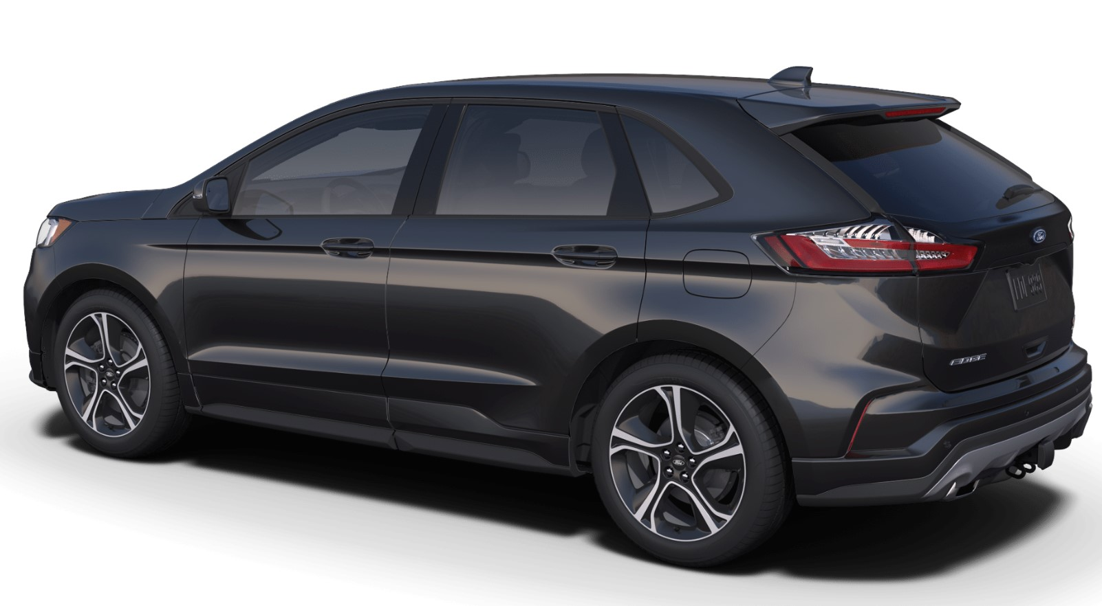 2019 Ford Edge ST Rear Black Exterior
