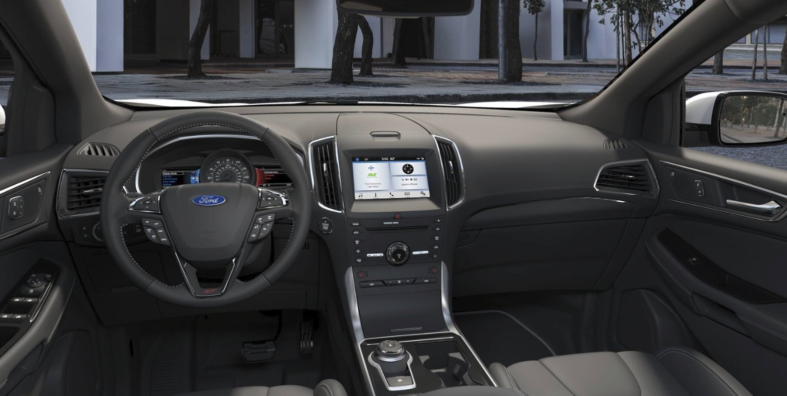 2019 Ford Edge ST Side Black Interior