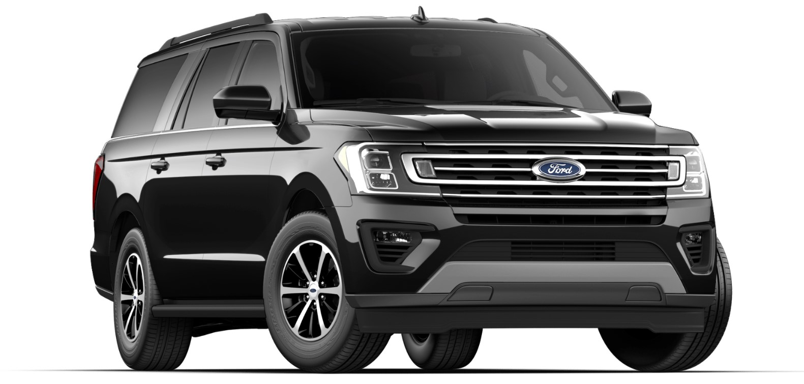 2019 Ford Expedition Front Black Exterior