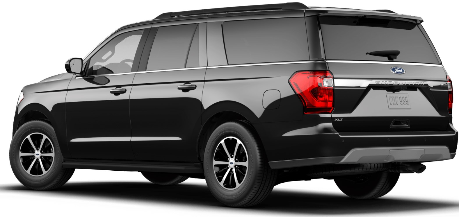 2019 Ford Expedition Max Rear Black Exterior