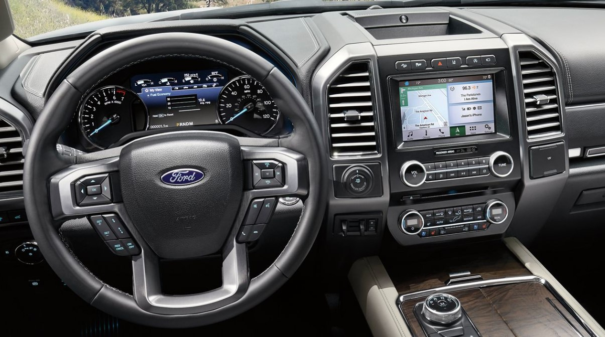 2019 Ford Expedition Dashboard Interior