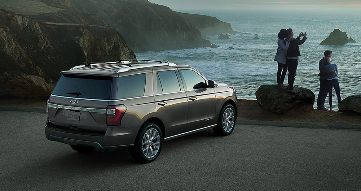 2019 Ford Expedition Parked Gray Exterior