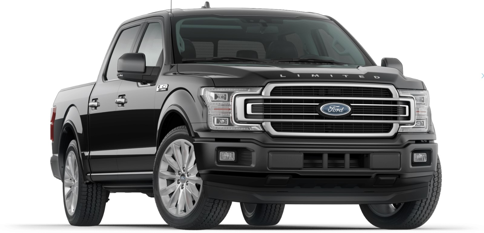 2019 Ford F-150 Limited Black Front Exterior