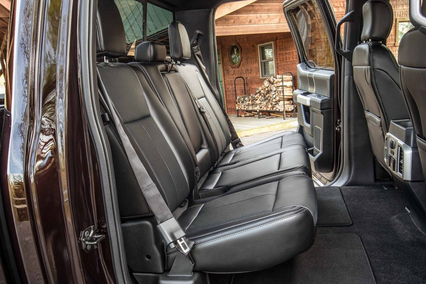 2019 Ford F-150 Interior Seating Detail Picture
