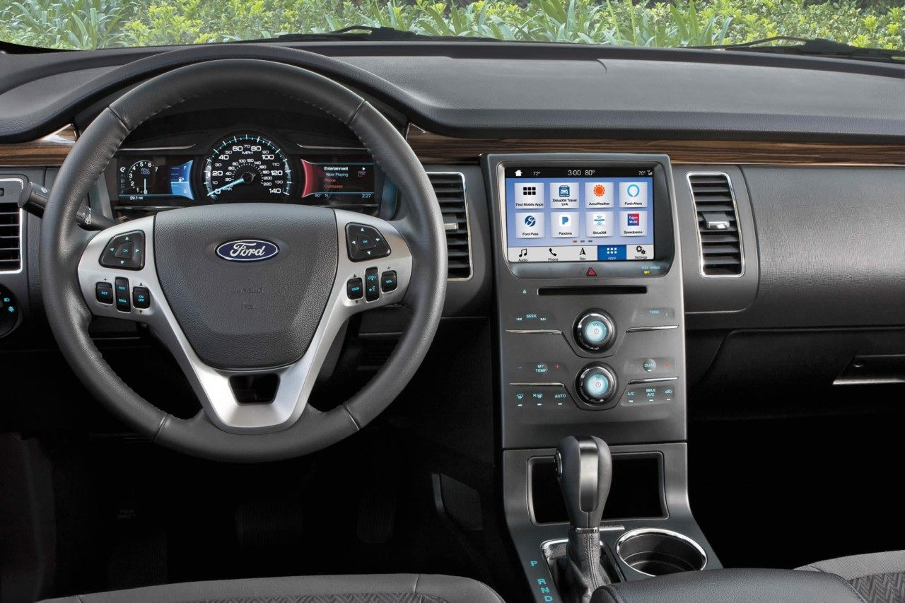 2019 Ford Flex Interior Dashboard Picture