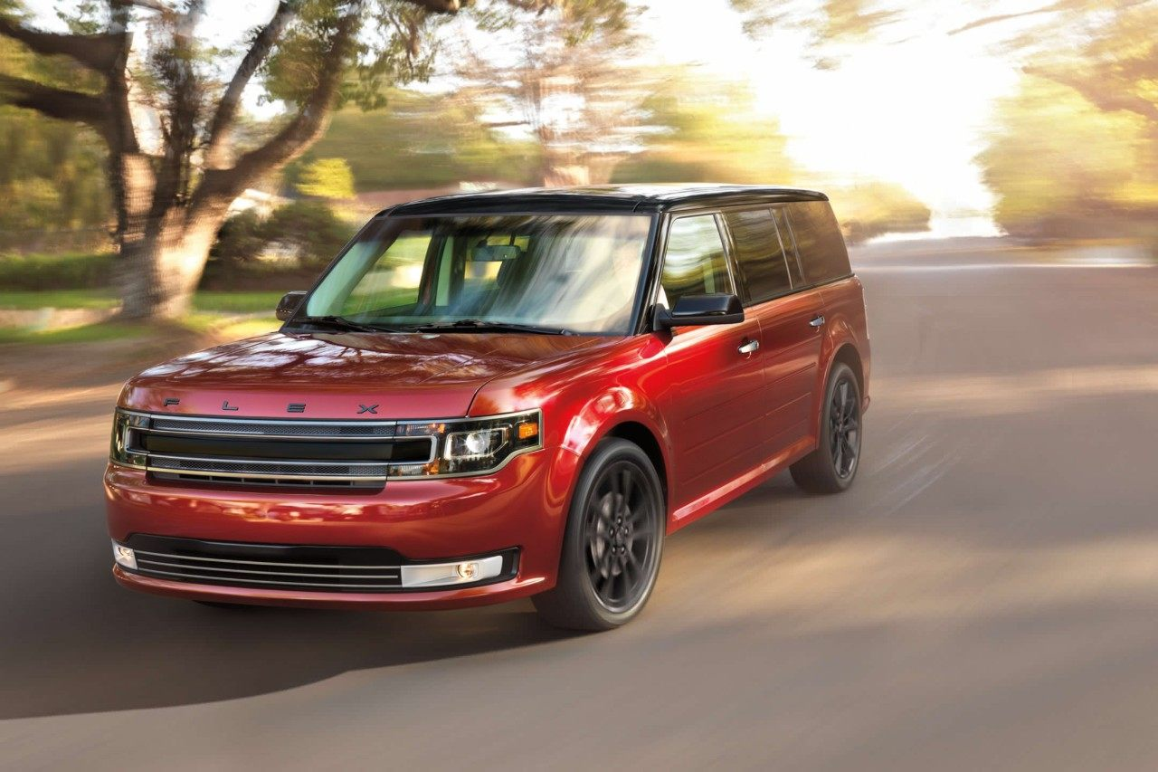 2019 Ford Flex Red Exterior Front Picture