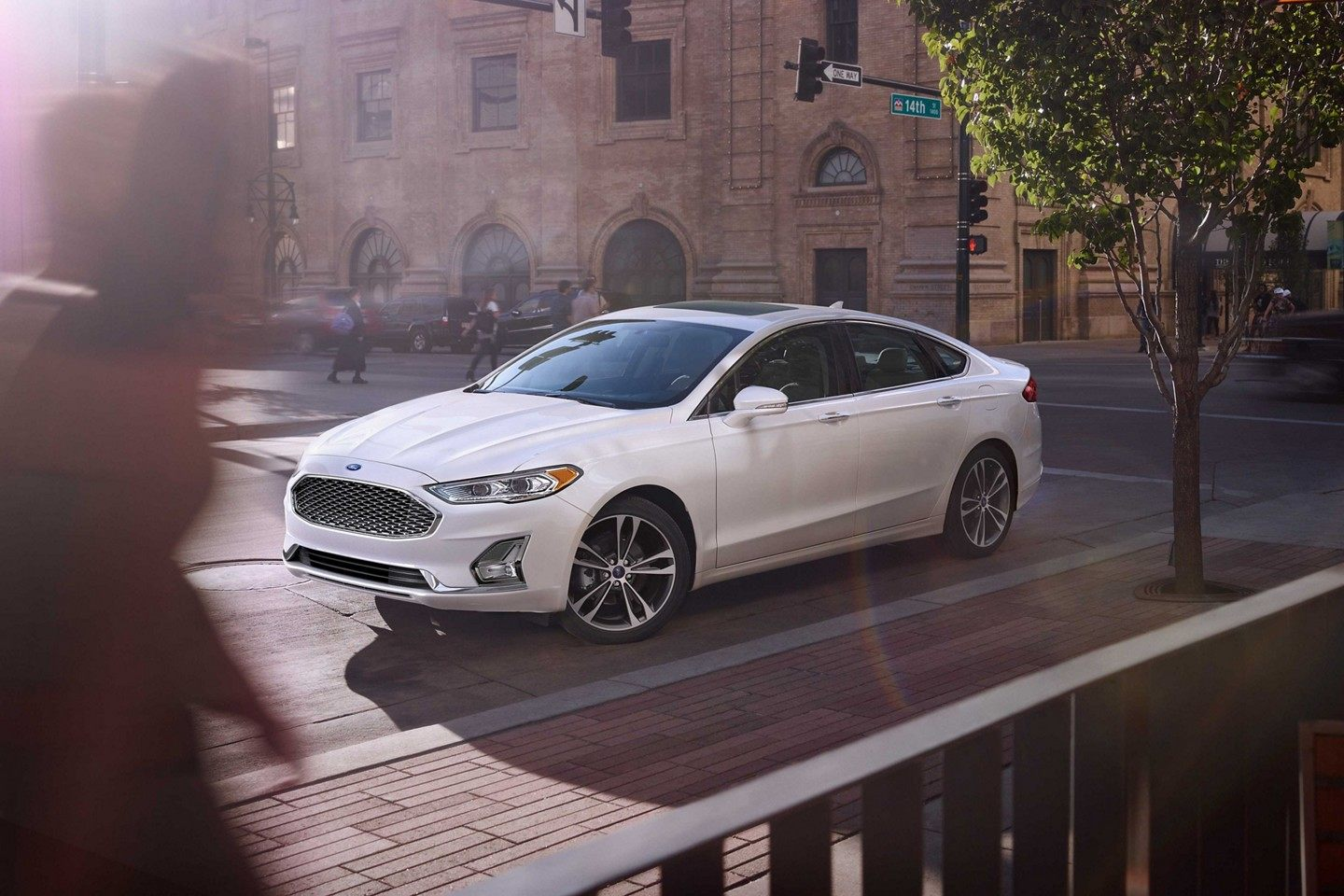 2019 Ford Fusion Front White Exterior.jpeg