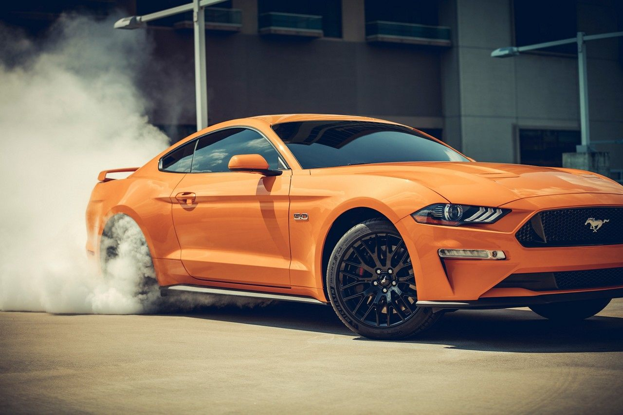 2019 Ford Mustang Orange Fury Exterior Side View Picture.jpeg