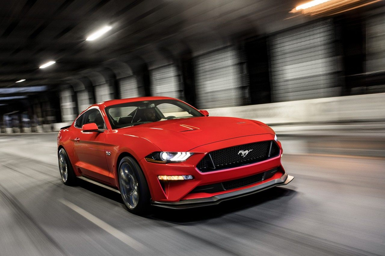 2019 Ford Mustang Race Red Exterior Front View Picture.jpeg