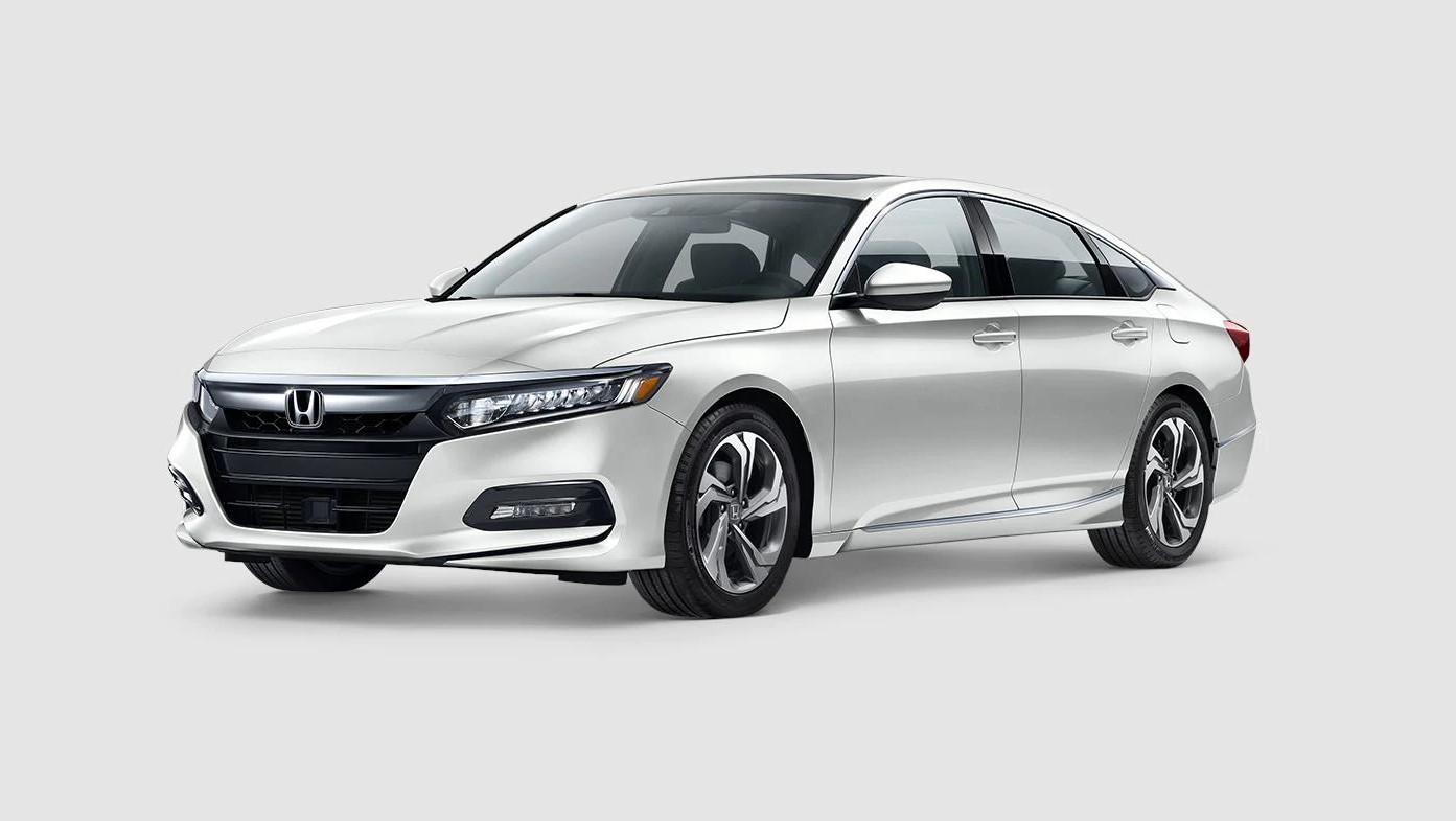 2019 Honda Accord EX White Exterior Front View