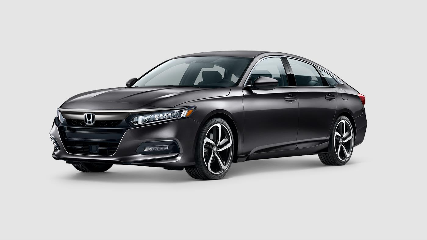 2019 Honda Accord Sedan Sport Modern Steel Exterior Front Picture