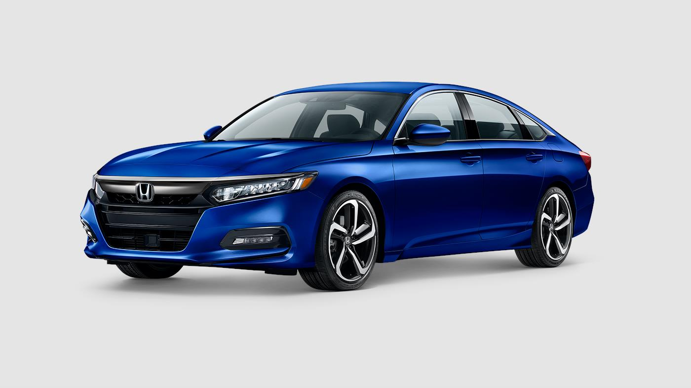 2019 Honda Accord Sport Blue Exterior Front View