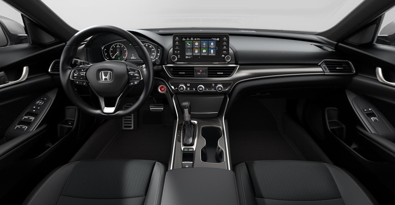 2019 Honda Accord Sport Front Interior Picture
