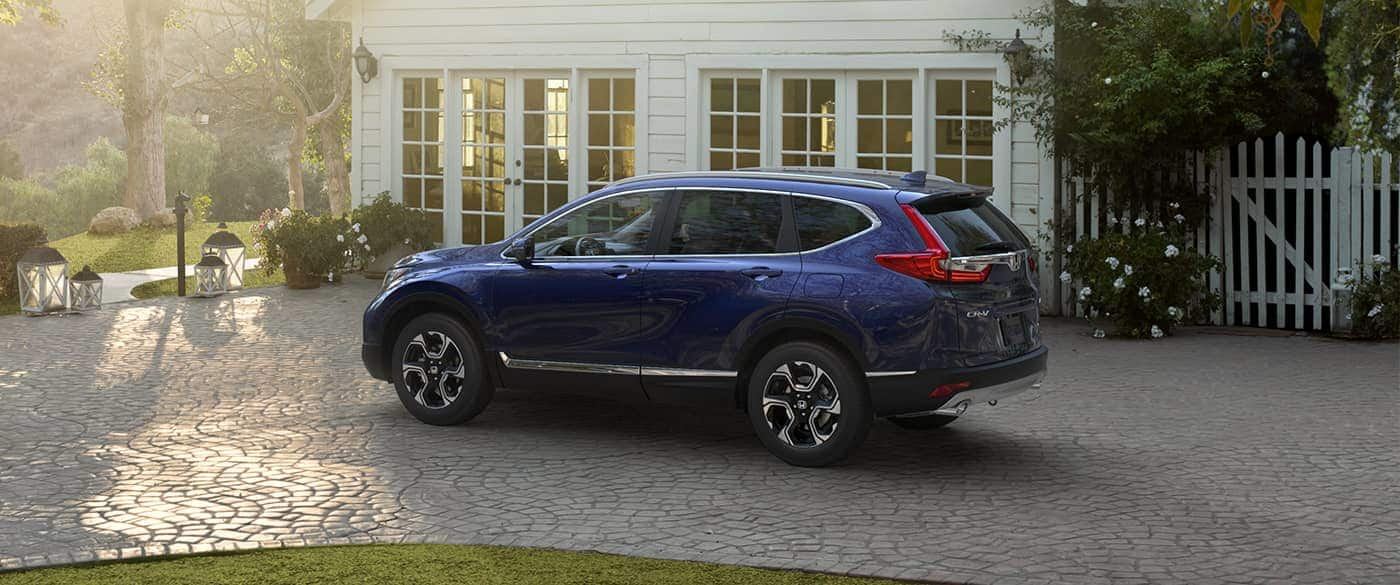 2019 Honda CR-V Blue Exterior Side Picture