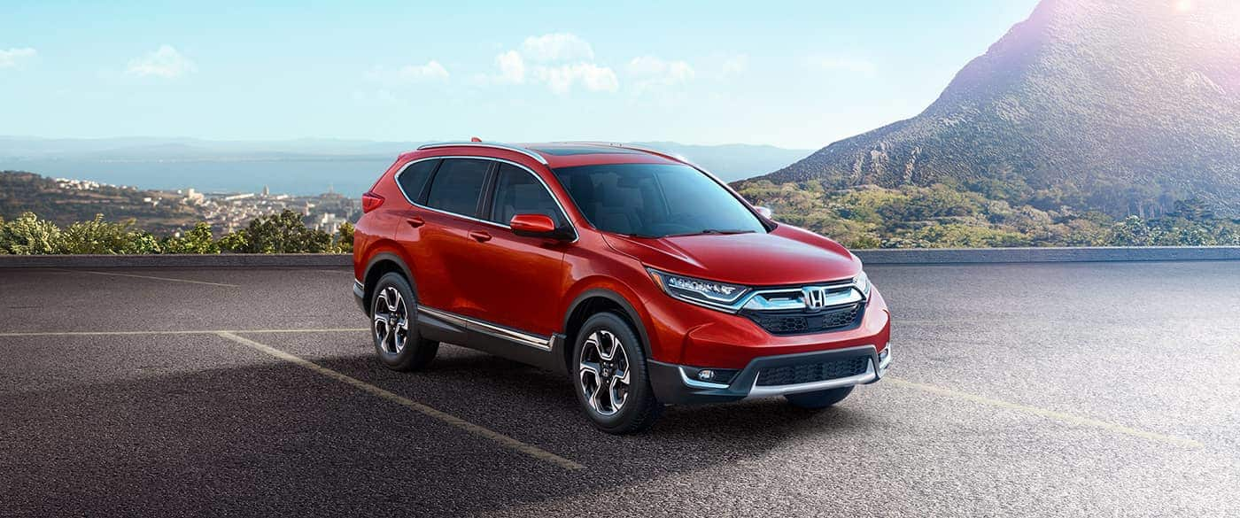 2019 Honda CR-V Red Front Exterior Picture