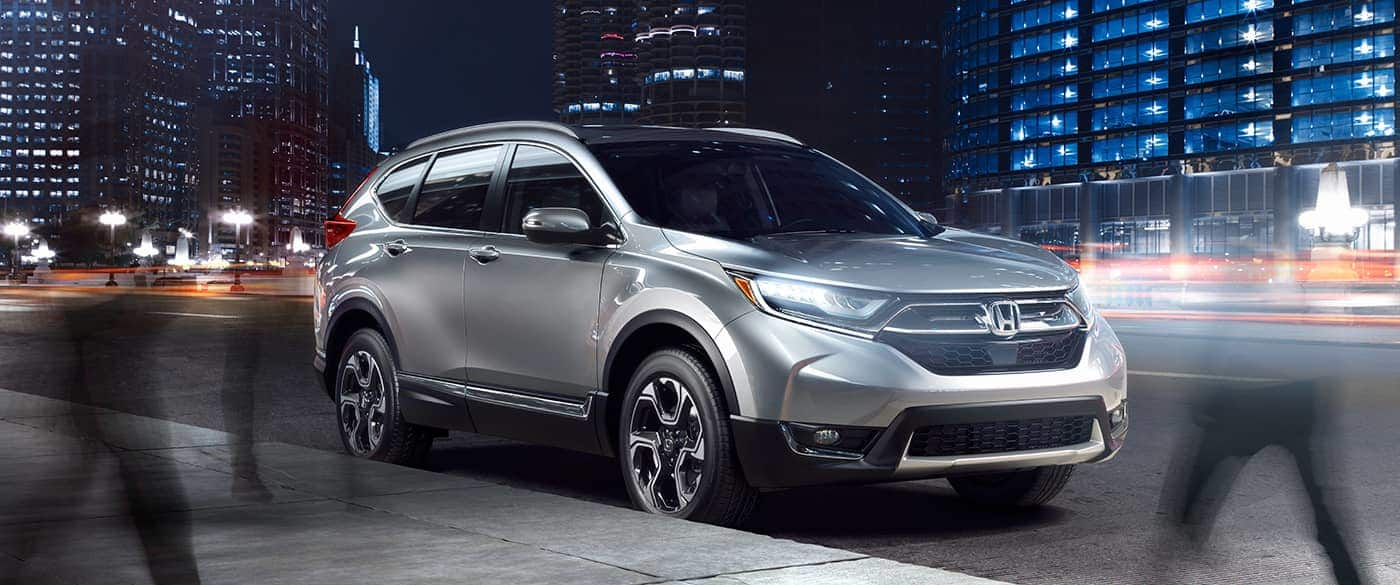 2019 Honda CR-V Silver Front Exterior Picture