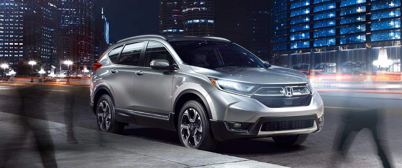 2019 Honda CRV Silver Front Exterior