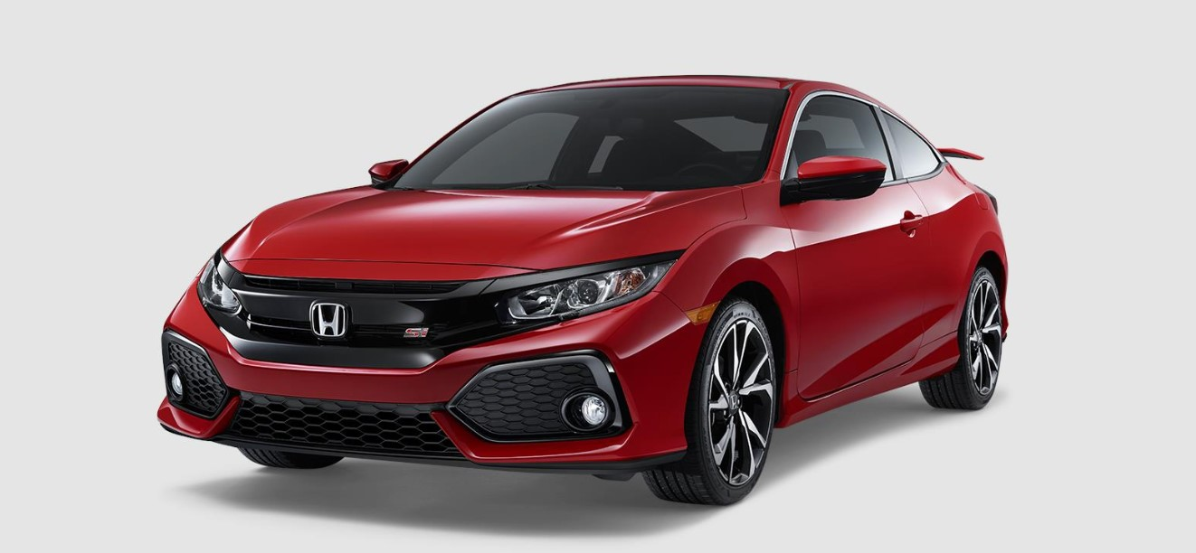 2019 Honda Civic Si Coupe Front Red Exterior