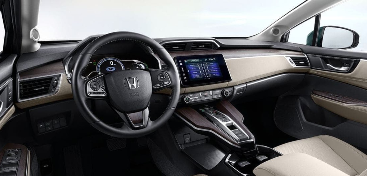 2019 Honda Clarity Plug-In Hybrid Front Dashboard Interior