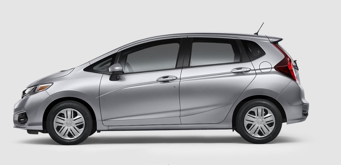 2019 Honda Fit LX Side Exterior Picture