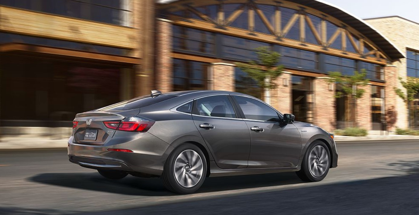 2019 Honda Insight Rear Gray Exterior