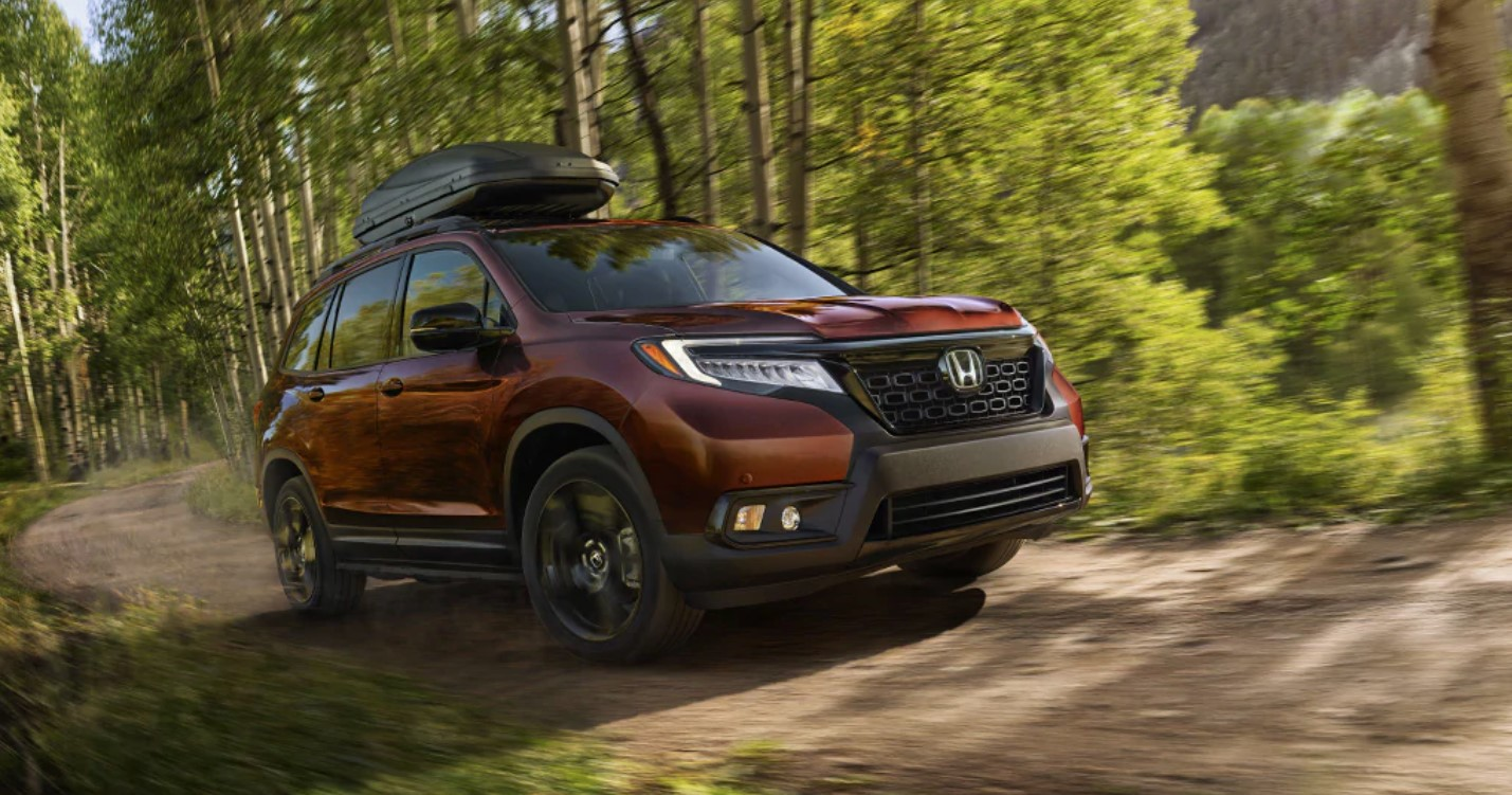 2019 Honda Passport Front Burnt Red Exterior