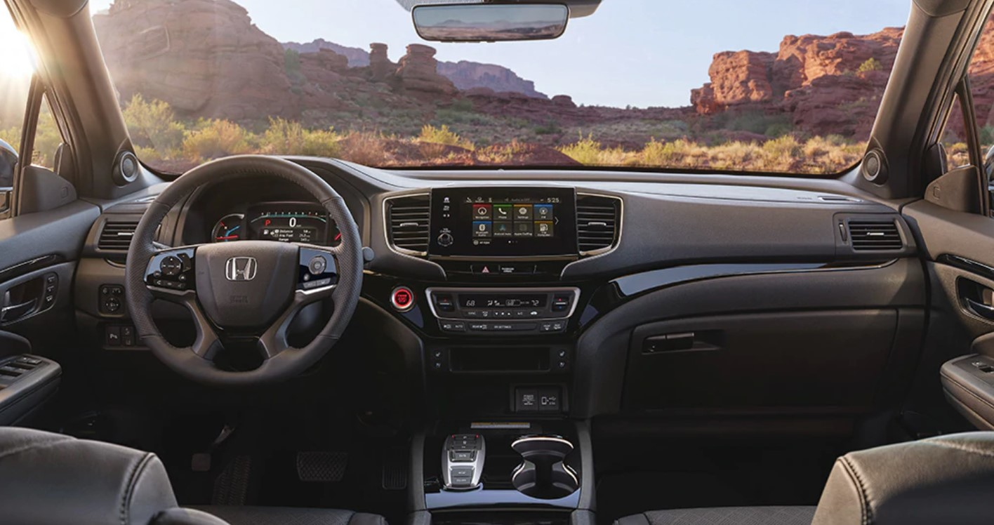 2019 Honda Passport Front Dashboard Interior