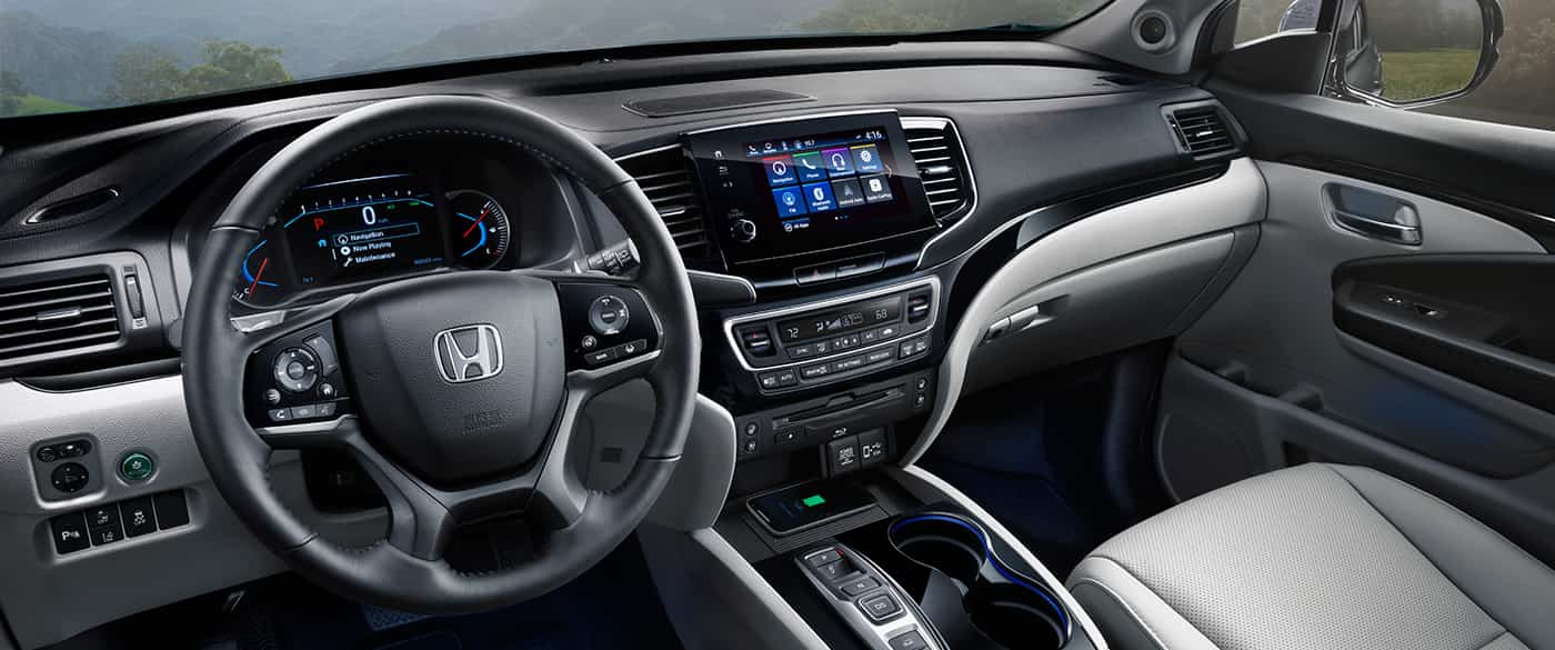 2019 Honda Pilot Dashboard Interior