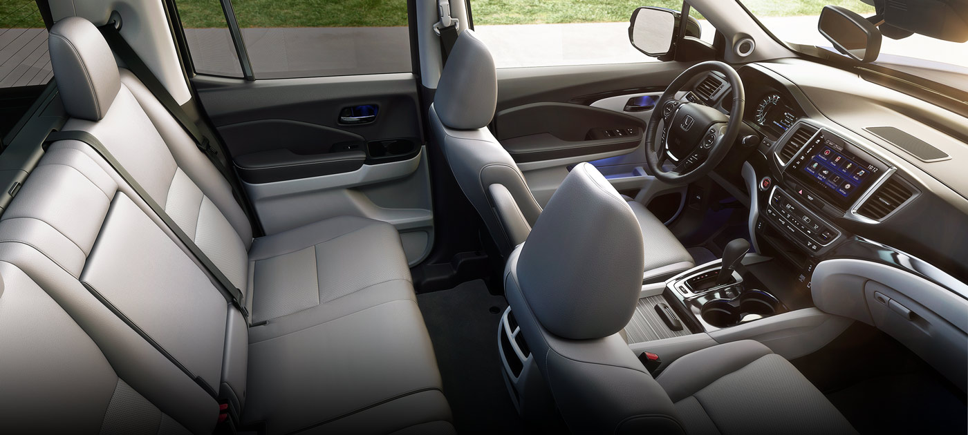 2019 Honda Ridgeline RTL Leather Interior