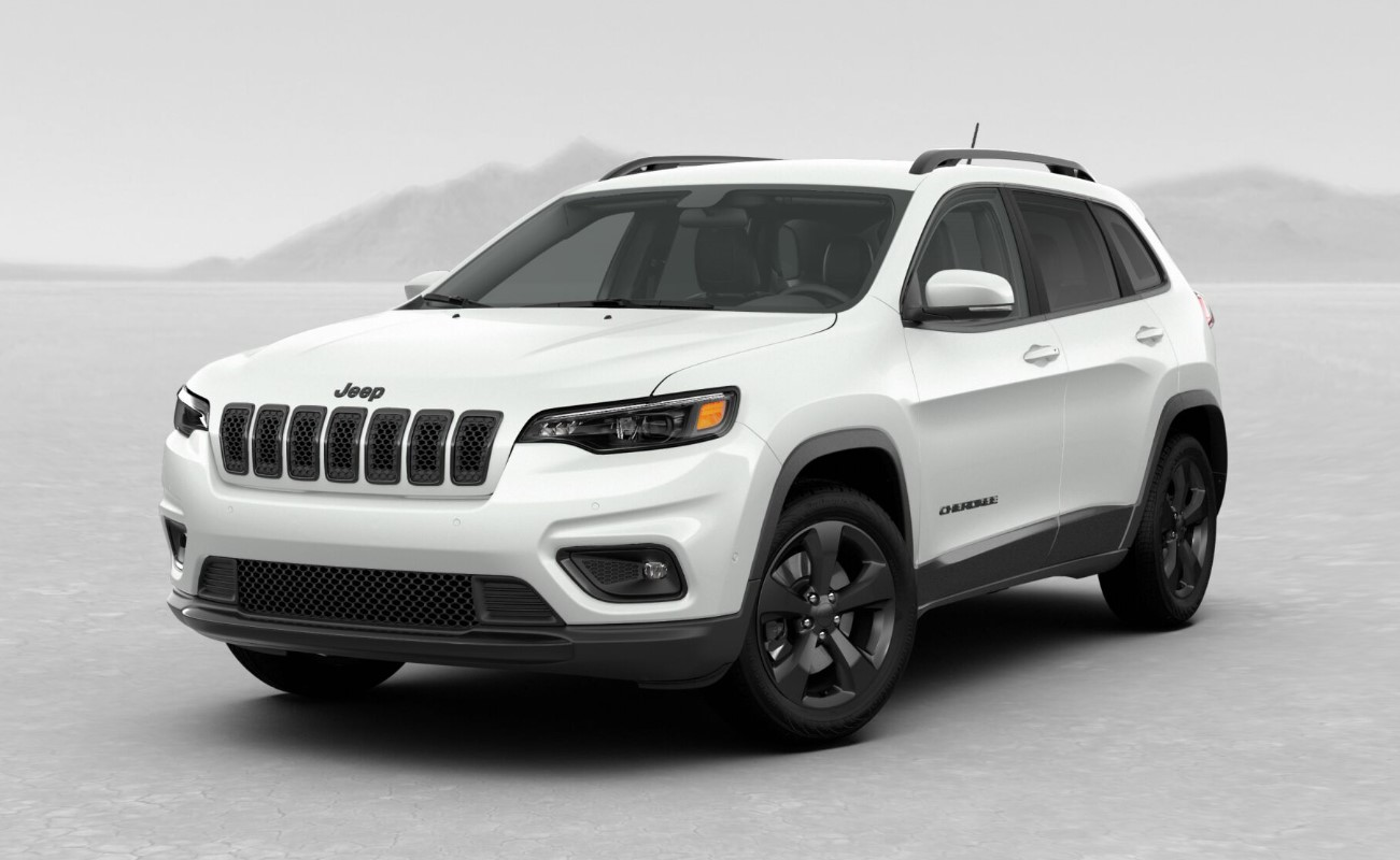 2019 Jeep Cherokee Altitude Front White Exterior