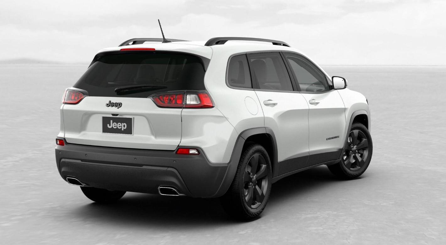 2019 Jeep Cherokee Altitude Rear White Exterior