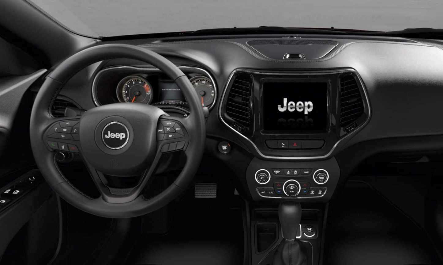 2019 Jeep Cherokee High Altitude Dashboard Interior