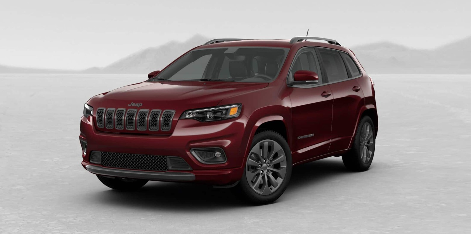 2019 Jeep Cherokee High Altitude Front Red Exterior