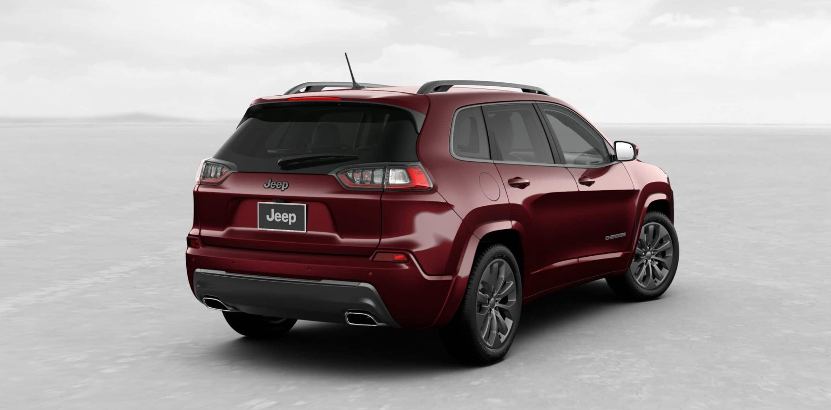 2019 Jeep Cherokee High Altitude Rear Exterior Red Picture
