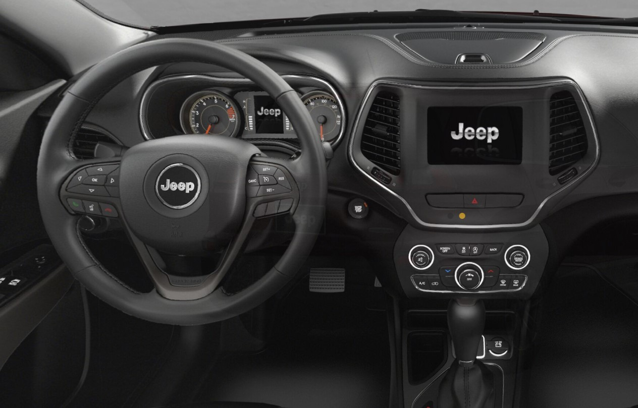 2019 Jeep Cherokee Latitude Plus Dashboard Interior Picture