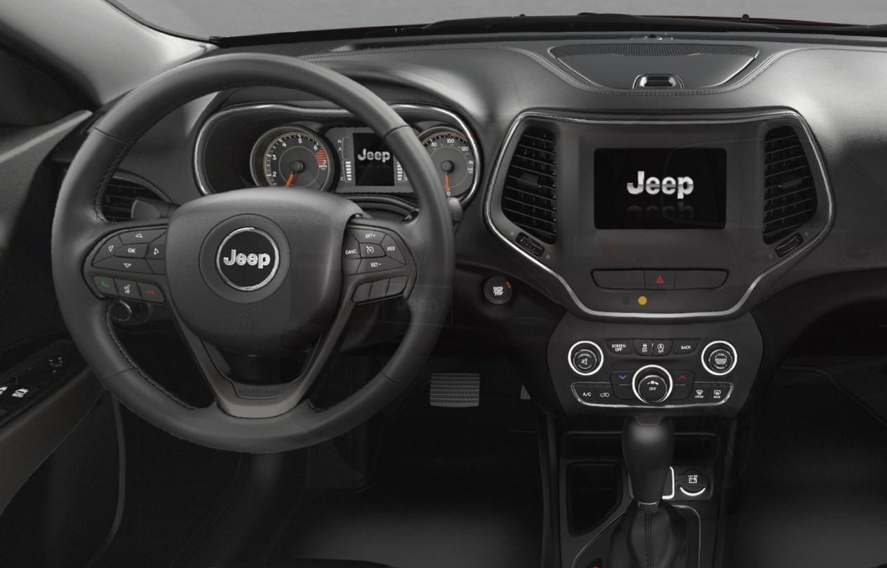 2019 Jeep Cherokee Laude Plus Dashboard Interior Picture