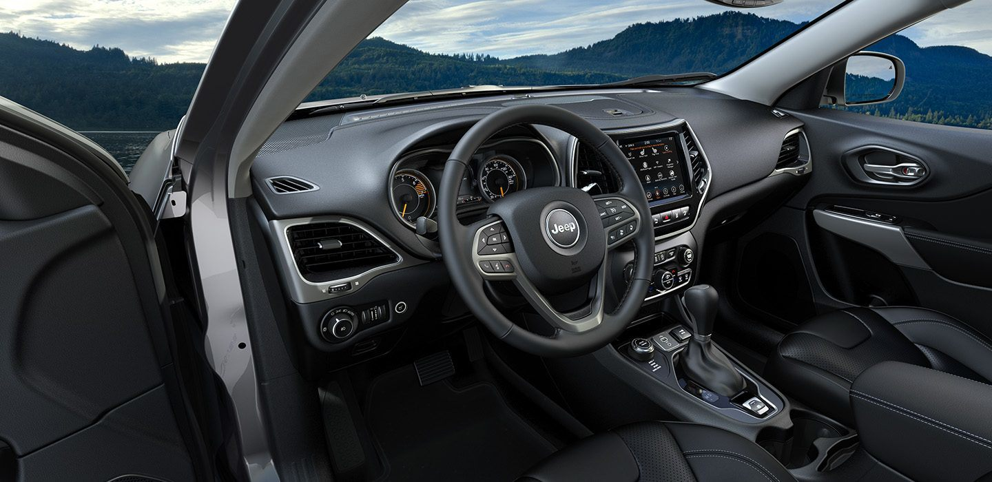 2019 Jeep Cherokee Latitude Dashboard Interior