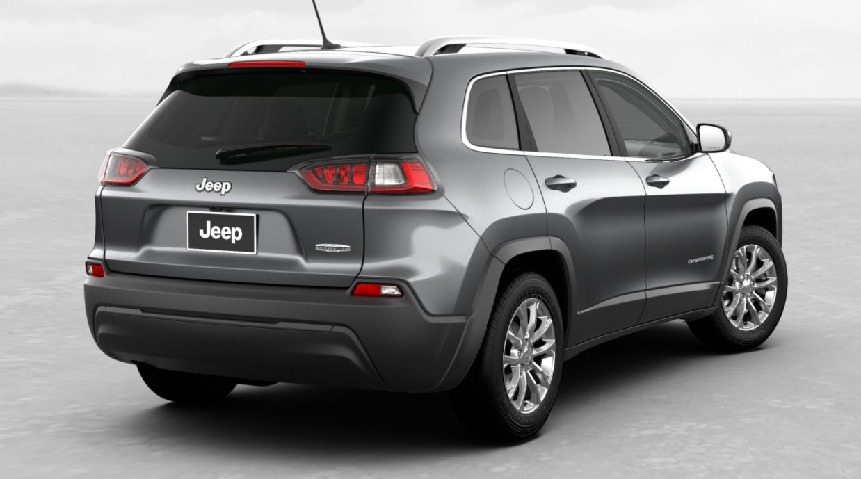 2019 Jeep Cherokee Latitude Gray Rear Exterior